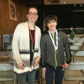 Dylan Herlihy wins Geography Bee for third year in a row!